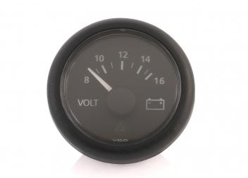 Viewline Voltmetro / 8 - 16 V / nero