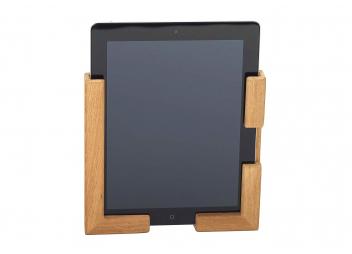 Supporto in teak per tablet