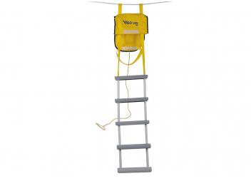 Scaletta di salvataggio e sicurezza