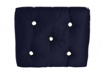 Cuscino singolo da barca Kapok / blu navy
