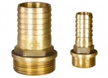 Portagomma per tubi flessibili AG, ottone CR
