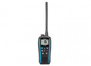Radio VHF Marina IC-M25EURO, blu navy