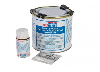 Adesivo in PVC bicomponente per gommoni / 250 ml