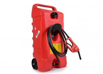 SCEPTER - Serbatoio carburante DURAMAX con ruote e erogatore, 53 litri