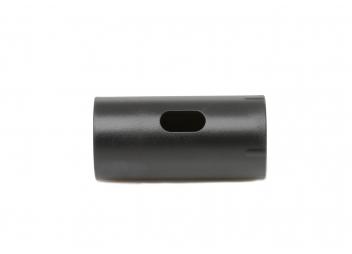 Inserto in plastica per base reling / nero