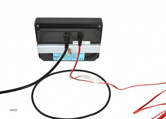 Ricevitore commutabili a doppio canale 518/490 kHz. Tutti i messaggi e canali sono liberamente programmabili. Disponibile in due versioni: NAVTEX CLIPPER e NAVTEX EASY. Oltre alla frequenza di 518 kHz NAVTEX in inglese, le altre stazioni ra (Immagine 2 di 6)