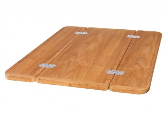 Piano tavoloin legno Teak. Disponibili in diverse dimensioni.  (Immagine 1 di 3)
