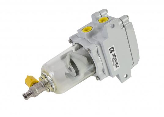 Il SEPAR SWK 2000 è un separatore d'acqua e un filtro per gasolio leggero. Certificato GL, Lloyds, RINA, TÜV. Disponibile in diverse versioni.  (Immagine 2 di 2)