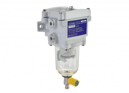 Il SEPAR SWK 2000 è un separatore d'acqua e un filtro per gasolio leggero. Certificato GL, Lloyds, RINA, TÜV. Disponibile in diverse versioni.  (Immagine 1 di 2)