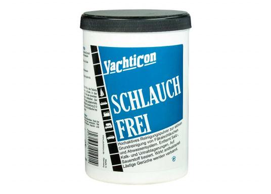 Niente più odori fastidiosi! Polvere detergente di Yachticon per la pulizia dei tubi di acque nere. Ha un effetto antibatterico e toglie i cattivi odori.  (Immagine 1 di 2)