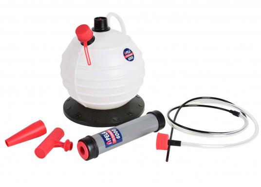 Una pompa molto intelligente! Ideale per l'utilizzo in casa, il giardino e in barca.  (Immagine 7 di 7)