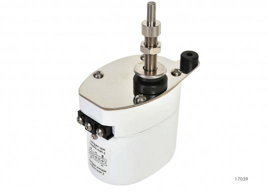 Tergicristallo elettrico con potente motore elettrico schermato. Alloggiamento in acciaio inossidabile. Disponibile nella versione da 12 V o 24 V.  (Immagine 4 di 6)
