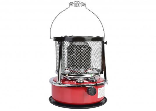 La stufa a cherosene provvede a rendere l'ambientecaldo ed accogliente.Dotata di un serbatoio di circa 5litri di carburante per un tempo di funzionamento di circa 17 ore.  (Immagine 1 di 16)