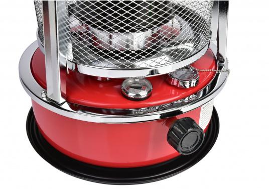 La stufa a cherosene provvede a rendere l'ambientecaldo ed accogliente.Dotata di un serbatoio di circa 5litri di carburante per un tempo di funzionamento di circa 17 ore.  (Immagine 4 di 16)
