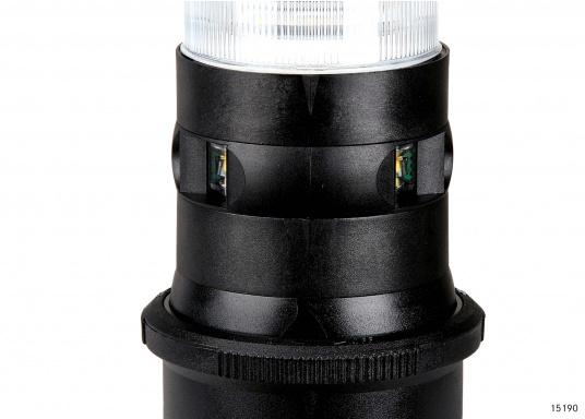 Design accattivante, l'ultimo stato in tema di illuminazione nautica - la serie di LED 34. Esente da manutenzione, resistente all'acqua di mare, protezione UV. Bassissimo consumo energetico.  (Immagine 2 di 8)