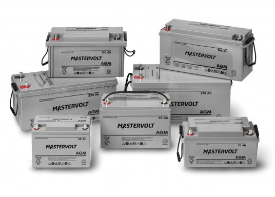 Nelle batterie AGM, la maggior parte dell'elettrolita (miscela di acqua e acido solforico) è assorbitodallafibra di vetro. Questo tipo di batteria non necessitamanutenzione e non si forma gas durante il normale utilizzo. Poiché non è necessaria la ventilazione, questa batteria può essere installata ovunque.  (Immagine 1 di 9)