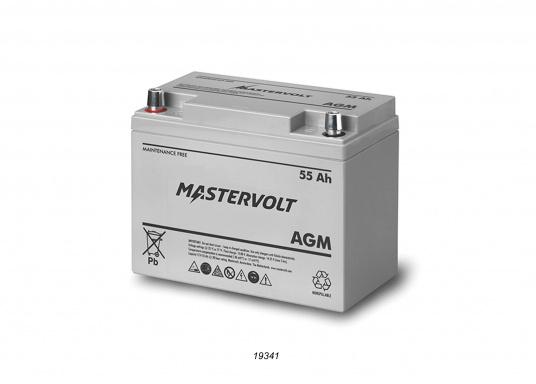 Nelle batterie AGM, la maggior parte dell'elettrolita (miscela di acqua e acido solforico) è assorbitodallafibra di vetro. Questo tipo di batteria non necessitamanutenzione e non si forma gas durante il normale utilizzo. Poiché non è necessaria la ventilazione, questa batteria può essere installata ovunque.  (Immagine 2 di 9)