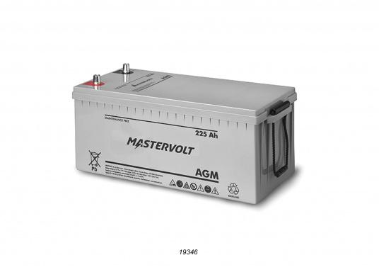 Nelle batterie AGM, la maggior parte dell'elettrolita (miscela di acqua e acido solforico) è assorbitodallafibra di vetro. Questo tipo di batteria non necessitamanutenzione e non si forma gas durante il normale utilizzo. Poiché non è necessaria la ventilazione, questa batteria può essere installata ovunque.  (Immagine 7 di 9)