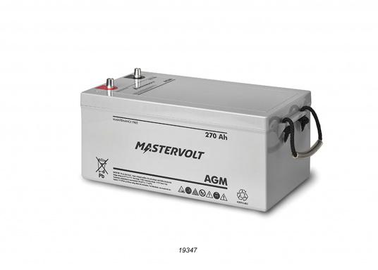 Nelle batterie AGM, la maggior parte dell'elettrolita (miscela di acqua e acido solforico) è assorbitodallafibra di vetro. Questo tipo di batteria non necessitamanutenzione e non si forma gas durante il normale utilizzo. Poiché non è necessaria la ventilazione, questa batteria può essere installata ovunque.  (Immagine 8 di 9)