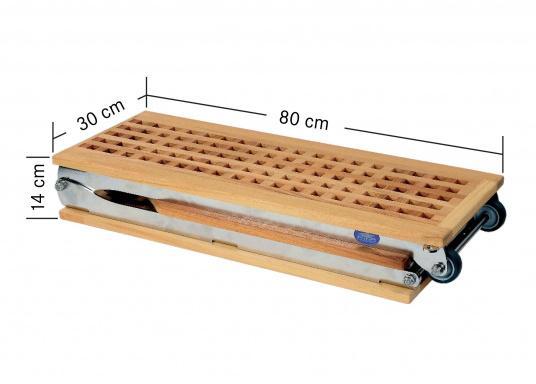 Questa passerella in legno non è solo bella, ma anche estremamente innovativa e pratica.  (Immagine 8 di 8)