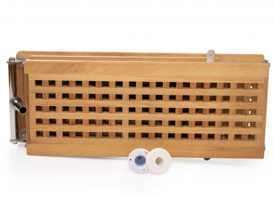 Questa passerella in legno non è solo bella, ma anche estremamente innovativa e pratica.  (Immagine 4 di 8)