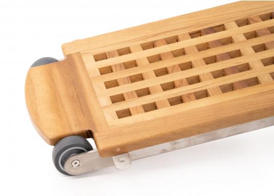 Questa passerella in legno non è solo bella, ma anche estremamente innovativa e pratica.  (Immagine 3 di 8)