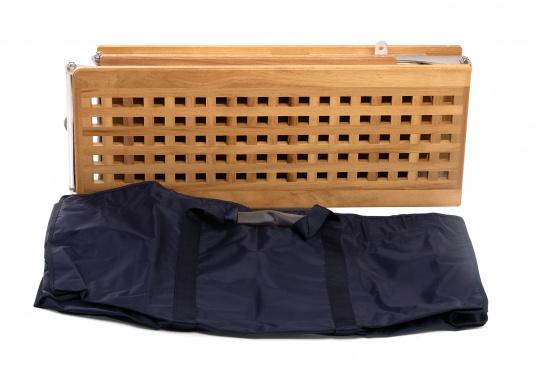 Questa passerella in legno non è solo bella, ma anche estremamente innovativa e pratica.  (Immagine 5 di 8)