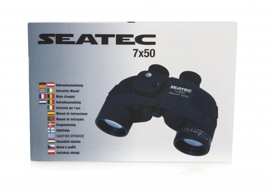 Il binocolo SEATEC TARGET è stato specificamente progettato per l'impiego in mare.  (Immagine 13 di 13)