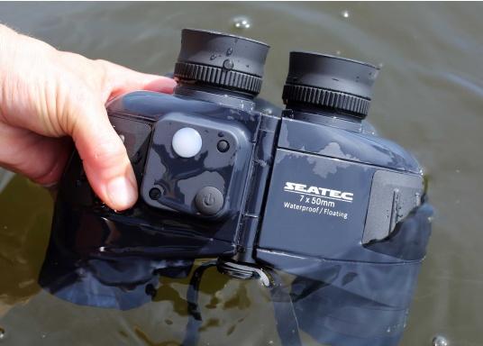 Il binocolo SEATEC TARGET è stato specificamente progettato per l'impiego in mare.  (Immagine 5 di 13)