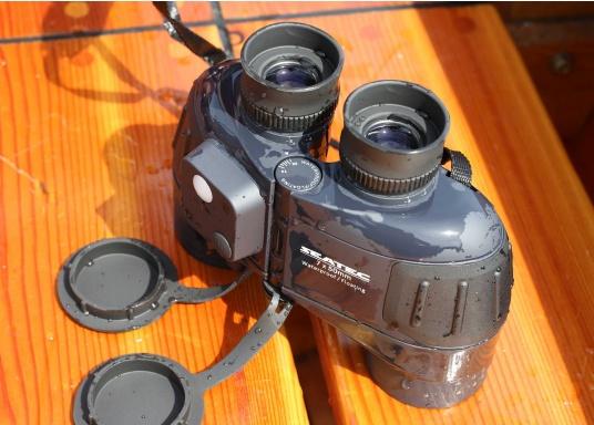 Il binocolo SEATEC TARGET è stato specificamente progettato per l'impiego in mare.  (Immagine 6 di 13)