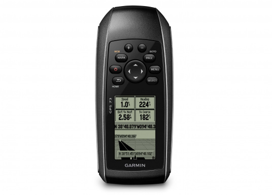 Il GPS 73 è un dispositivo portatile di facile utilizzo, che è la soluzione di navigazione perfetta per barche, barche a vela o piccole imbarcazioni che non dispongono di un chartplotter. Ha una sensibilità molto elevata affinchè i segnali satellitari possano essere catturati rapidamente e la vostra posizione possa essere determinata anche nelle condizioni più difficili.  (Immagine 2 di 9)