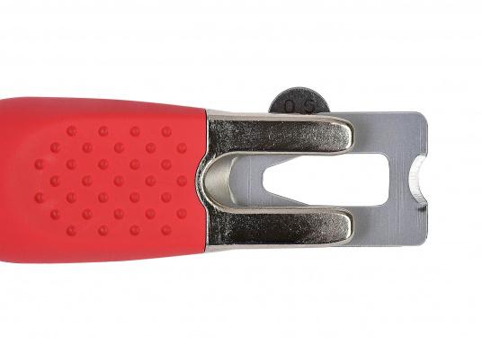 Il coltello speciale da taglio del marchioMOZART, il professionista di lame e maniglie nel settoreindustriale, è perfetto per la lavorazione delle fughe del teak. (Immagine 4 di 6)