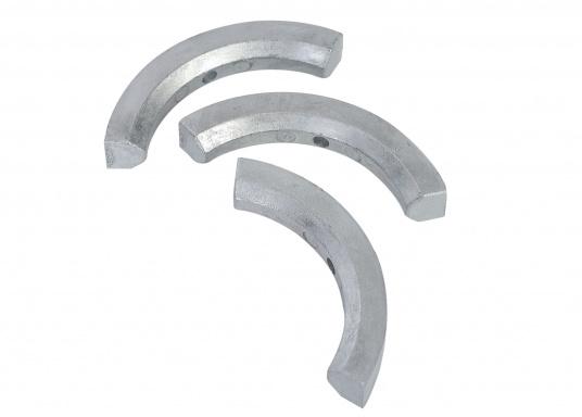 Anodo per elica per eliche Volvo Penta 2 e 3 pale, tre parti. Disponibile in zinco, alluminio o magnesio. Codice originale Volvo Penta: 3858399. (Immagine 1 di 3)