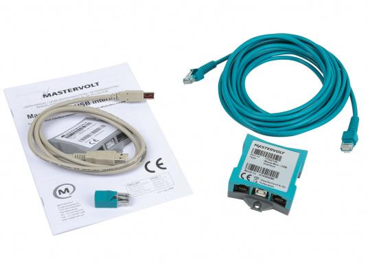 Con l'interfaccia USB MasterBus è possibile visualizzare e configurare il sistema MasterBus sul PC. (Immagine 4 di 4)