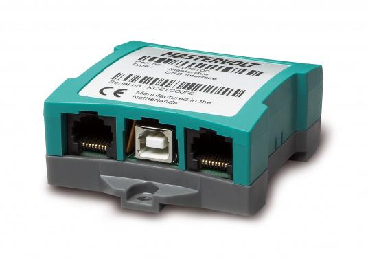 Con l'interfaccia USB MasterBus è possibile visualizzare e configurare il sistema MasterBus sul PC. (Immagine 1 di 4)