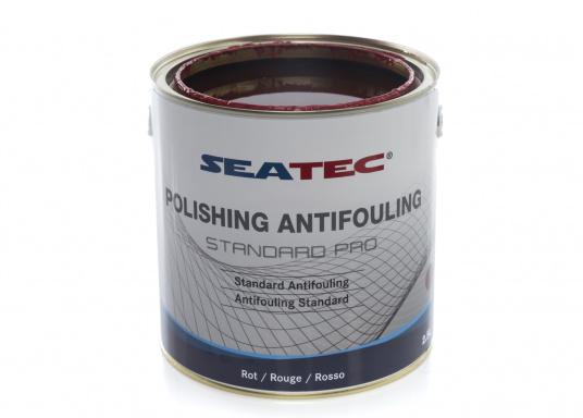 Ulteriore sviluppo della consolidata SEATEC Antifouling STANDARD. STANDARD PRO è un'antivegetativa universale autopulente a base di composti bioattivi, organici e composti di rame. (Immagine 4 di 6)