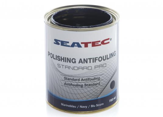 Ulteriore sviluppo della consolidata SEATEC Antifouling STANDARD. STANDARD PRO è un'antivegetativa universale autopulente a base di composti bioattivi, organici e composti di rame. (Immagine 6 di 6)