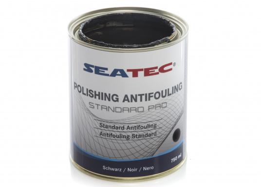 Ulteriore sviluppo della consolidata SEATEC Antifouling STANDARD. STANDARD PRO è un'antivegetativa universale autopulente a base di composti bioattivi, organici e composti di rame. (Immagine 5 di 6)