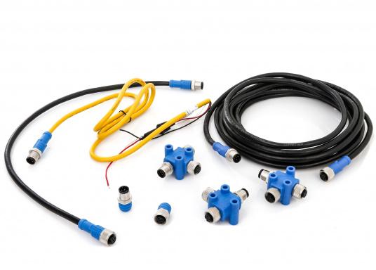 Lo starter kit NMEA2000 include tutti i componenti per costruire una piccola rete NMEA2000. (Immagine 1 di 7)