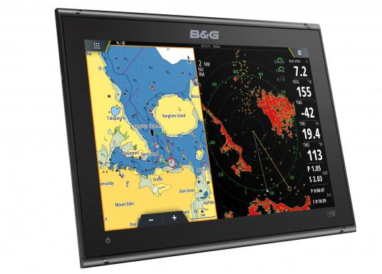 """Ricca di innovazioni e caratteristiche pluripremiatedella vela, la nuova serie di display multifunzione Vulcan di B&G è un must per ogni velista. Il Vulcan 12R è dotato di display multi-touch da 12"""", GPS integrato e WiFi, eccellenti tecnologie sonar e compatibilità radar. Fornito senza trasduttore. (Immagine 2 di 15)"""