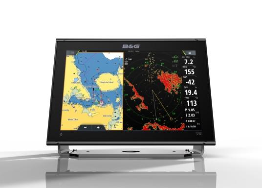 """Ricca di innovazioni e caratteristiche pluripremiatedella vela, la nuova serie di display multifunzione Vulcan di B&G è un must per ogni velista. Il Vulcan 12R è dotato di display multi-touch da 12"""", GPS integrato e WiFi, eccellenti tecnologie sonar e compatibilità radar. Fornito senza trasduttore. (Immagine 5 di 15)"""