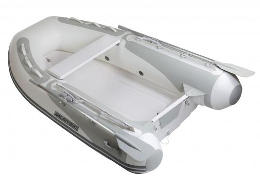 Il nuovo gommone a chiglia rigida PRO TENDER 220, prodotto da SEATEC, è ideale come tender d'appoggio per imbarcazione ma anche per escursioni e battute di pesca.  (Immagine 2 di 6)
