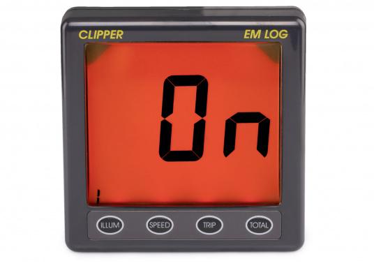 L'innovativo trasduttore elettromagnetico della NASA fornisce informazioni precise su velocità, distanza percorsa e altri registri di viaggio. La particolarità qui è che la velocità non è misurata da una ruota a pale, ma tramite un campo magnetico alternato. La confezione include un trasduttore log (velocità), il display della serie Clipper e un convertitore. (Immagine 3 di 12)