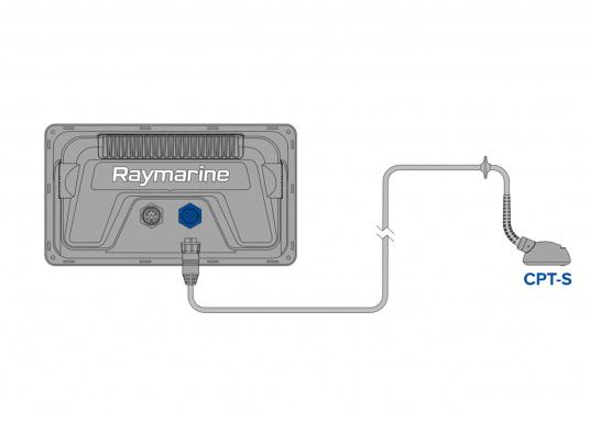 """Display multifunzione Smart 7"""" con interfaccia user-friendly, antenna GPS integrata e modulo sonar CHIRP integrato. Questo chartplotter Raymarine è stato progettato volutamente senza touchscreen in quanto i classici comandi a pulsante e l'interfaccia LightHouse Sport di Raymarine assicurano un funzionamento intuitivo e preciso del dispositivo anche in caso di alta velocità o mare mosso. (Immagine 5 di 5)"""