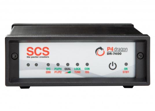 Il modem compatto HF DR-7400 offre un ingresso economico nella classe P4dragon. Il DR-7400 è stato adattato in modo ottimale al nuovo metodo di trasmissione high-end PACTOR-4e offre una trasmissione dati veloce e affidabile senza precedenti tramite onde corte: e-mail quasi come da casa, da qualsiasi punto del mondo. (Immagine 1 di 4)