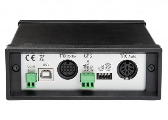 Il modem compatto HF DR-7400 offre un ingresso economico nella classe P4dragon. Il DR-7400 è stato adattato in modo ottimale al nuovo metodo di trasmissione high-end PACTOR-4e offre una trasmissione dati veloce e affidabile senza precedenti tramite onde corte: e-mail quasi come da casa, da qualsiasi punto del mondo. (Immagine 3 di 4)