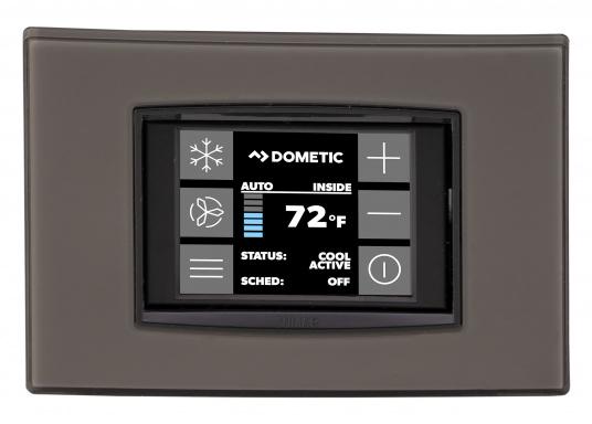 Sistema di climatizzazione compatto per l'autoinstallazione. Fornito con un rivestimento insonorizzante per la riduzione del rumore e un pannello di controllo delle cabine Smart Touch. (Immagine 4 di 6)