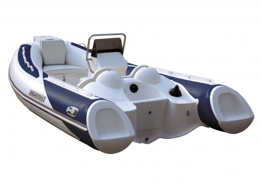 Prestazioni, sicurezza e comfort: il SEATEC GT SPORT 410 è il prodotto per tutti gli amanti degli sport acquatici. Sia che si tratta di pesca, sci nautico, escursioni o immersioni - il GT SPORT 410 offre prestazioni migliori! (Immagine 1 di 5)