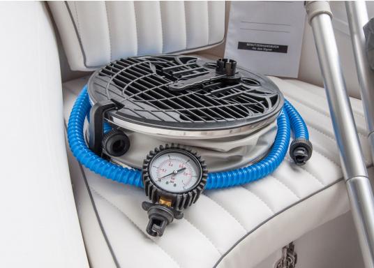 Prestazioni, sicurezza e comfort: il SEATEC GT SPORT 410 è il prodotto per tutti gli amanti degli sport acquatici. Sia che si tratta di pesca, sci nautico, escursioni o immersioni - il GT SPORT 410 offre prestazioni migliori! (Immagine 5 di 5)