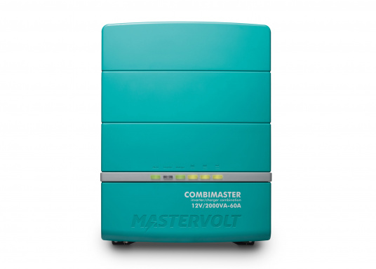 La serie Mastervolt CombiMaster coniuga facilità d'uso, affidabilità, una tecnologia di ricarica e di rete all'avanguardia. Le applicazioni impegnative e i carichi elevati non sono un problema per i potenti dispositivi CombiMaster. Grazie alle interfacce MasterBus, CZone e NMEA2000 integrate, la serie CombiMaster è compatibile con quasi tutte le attuali tecnologie di rete e terminali. (Immagine 2 di 9)